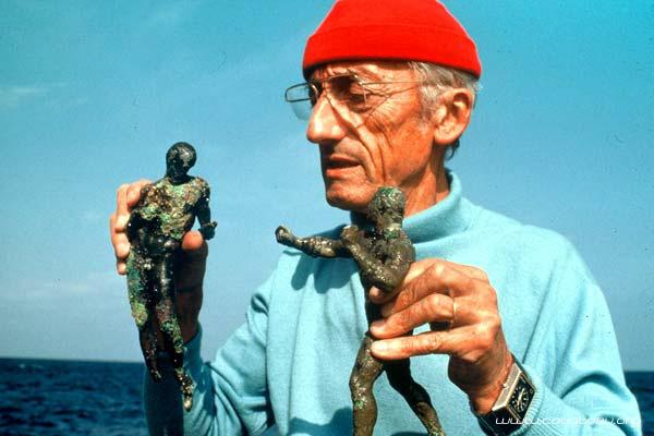 l'equipe cousteau et les montres Cousteau
