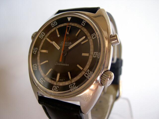 Les montres de plongée 60/70 à lunette interne tournante Seamasterstop